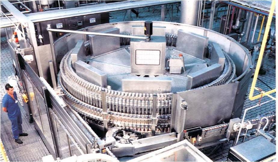非接触式磁致伸缩位移传感器/液位传感器在可口可乐灌装线上的应用